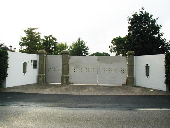 Cancello in acciaio inox