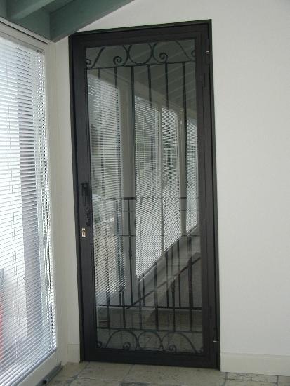 in ferro e vetro portoncino di sicurezza in ferro verniciato e vetro ...