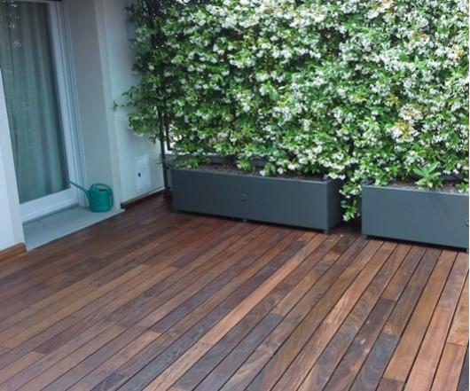 Pavimento in legno da esterni