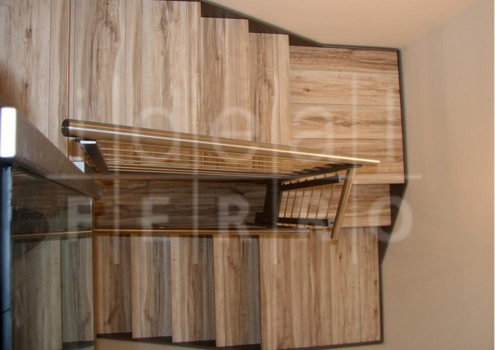 Eccezionale Scala con gradini in laminato - Idealferro QH54