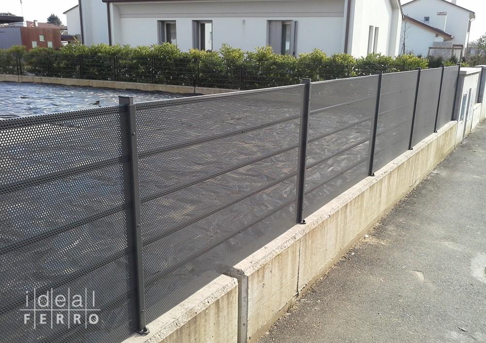 Super recinzione esterna moderna uf51 pineglen - Ringhiera giardino ...